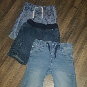 3!shorts Size 5 age 5 boys